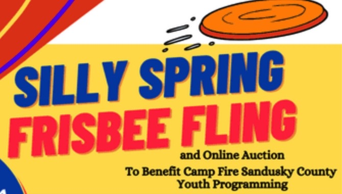 Silly Spring Frisbee Fling